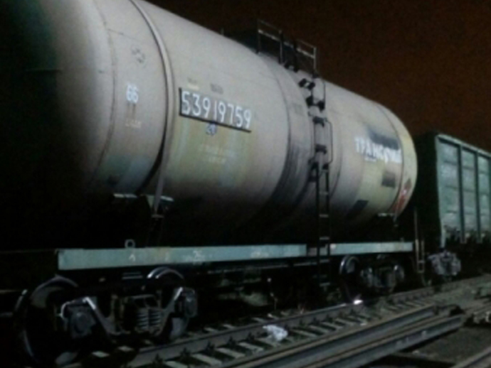 Утечку бензина устранили нажелезнодорожной станции вЕкатеринбурге