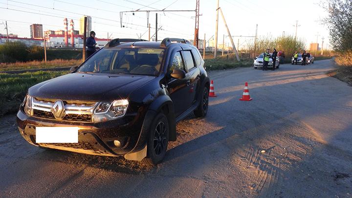 В Екатеринбурге водитель из-за яркого солнца сбил школьницу