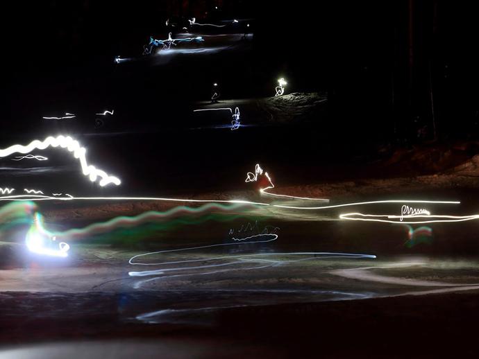 Тагильская светящаяся «лавина» может попасть вкнигу рекордов Гиннеса