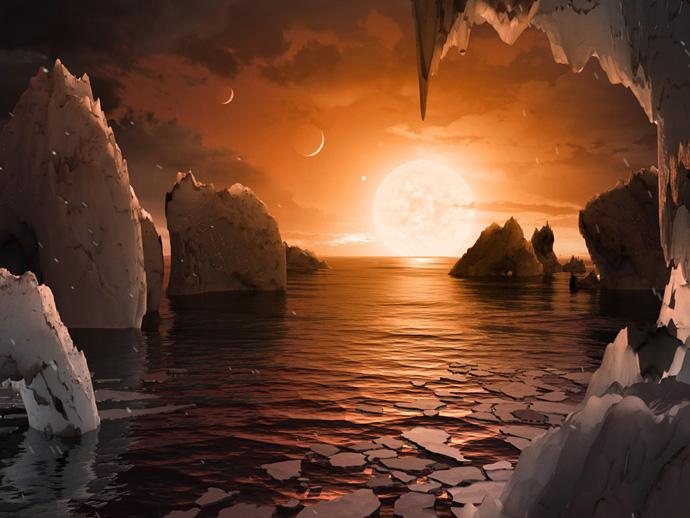 Три пригодные для жизни планеты обнаружили в NASA