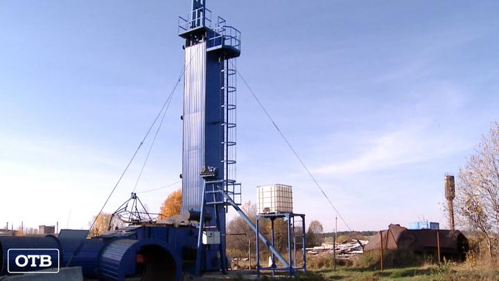 В посёлке Рудном появился экономичный теплогенератор для сушки зерна