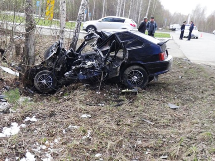 Под Кировградом столкнулись ВАЗ ирейсовый автобус: один человек умер