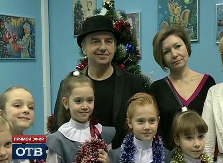 Новогоднее шоу «Рояль в кустах» на ОТВ: лидер «Чайфа» и Детская филармония