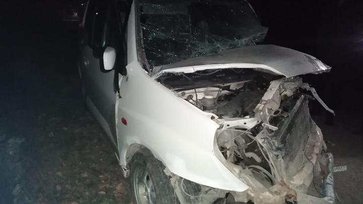 Под Асбестом три ребёнка пострадали в ДТП с пьяным водителем