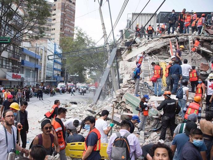Землетрясение вМексике: неменее, 225 погибших