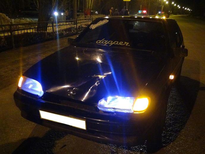 ВЕкатеринбурге двадцатилетний шофёр наВАЗе сбил женщину