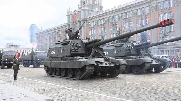 ВАрхангельске состоялась репетиция парада Победы