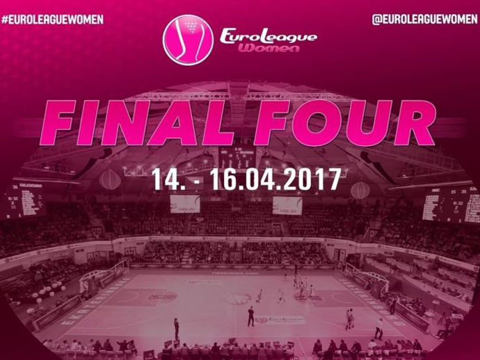 «Финал четырех» женской баскетбольной Евролиги сезона-2016/17 пройдет вЕкатеринбурге