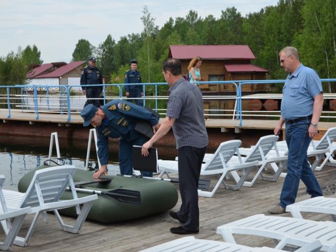 Всего 5 берегов Свердловской области признали безопасными
