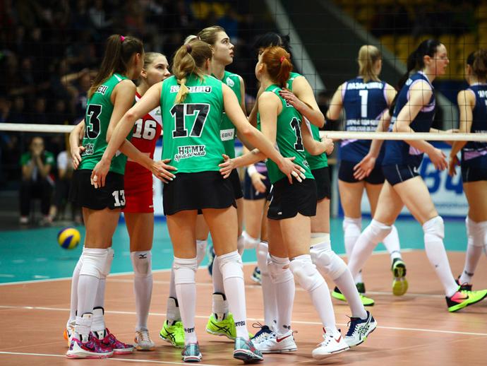 «Уралочка» повела вчетвертьфинальной серии против «Заречья-Одинцово»