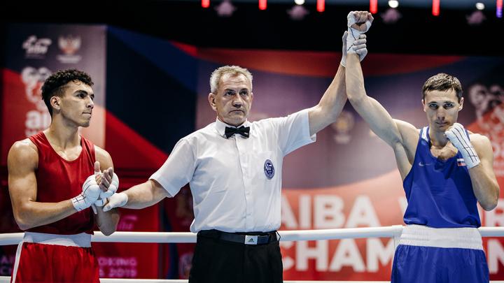 Российский боксёр победил нокаутом на ЧМ-2019 в Екатеринбурге
