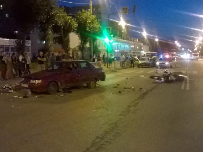 НаВИЗе в ужасной трагедии сучастием «десятки» умер пассажир мотоцикла