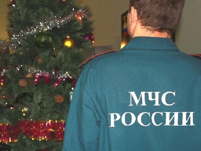 Количество пожаров вовремя новогодних праздников возрастает  — МЧС РФ